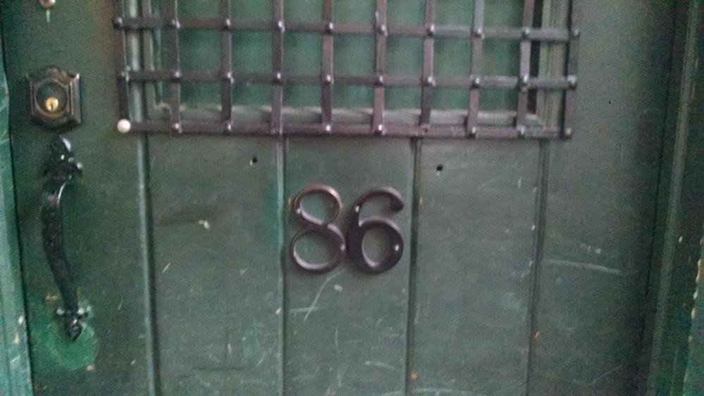 Chumley's door