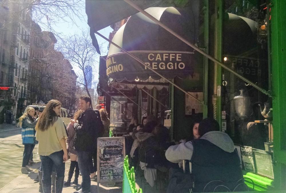 Caffe Reggio sidewalk