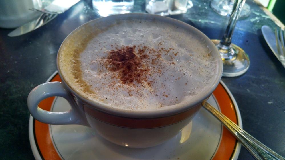 Caffe Reggio, cappuccino