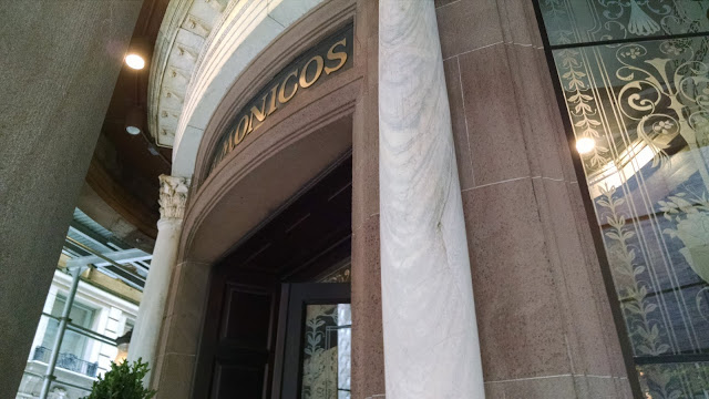 Delmonico's entrance