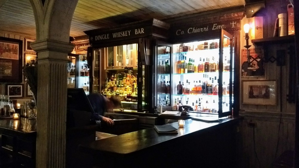 Dingle Whiskey bar, Fraunces Tavern