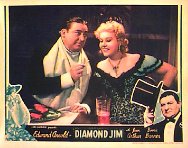 Poster for 1935 movie Diamond Jim