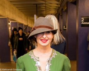 Iren Gurarye - At the Vintage Train Event