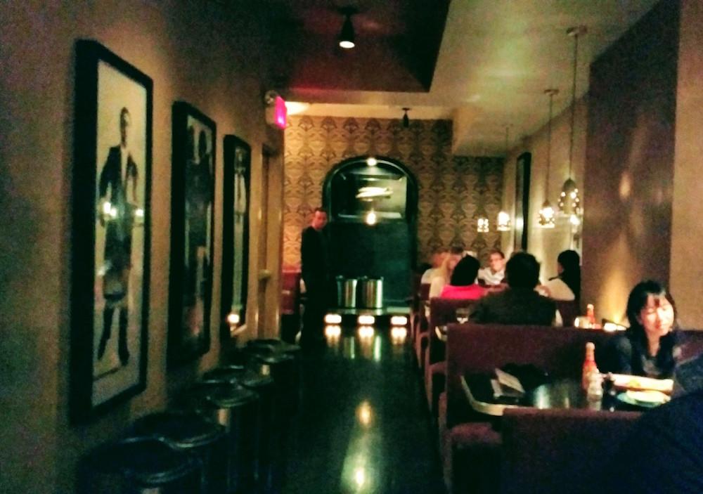 Bar Centrale interior