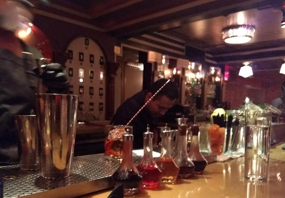 Barmen at Dear Irving