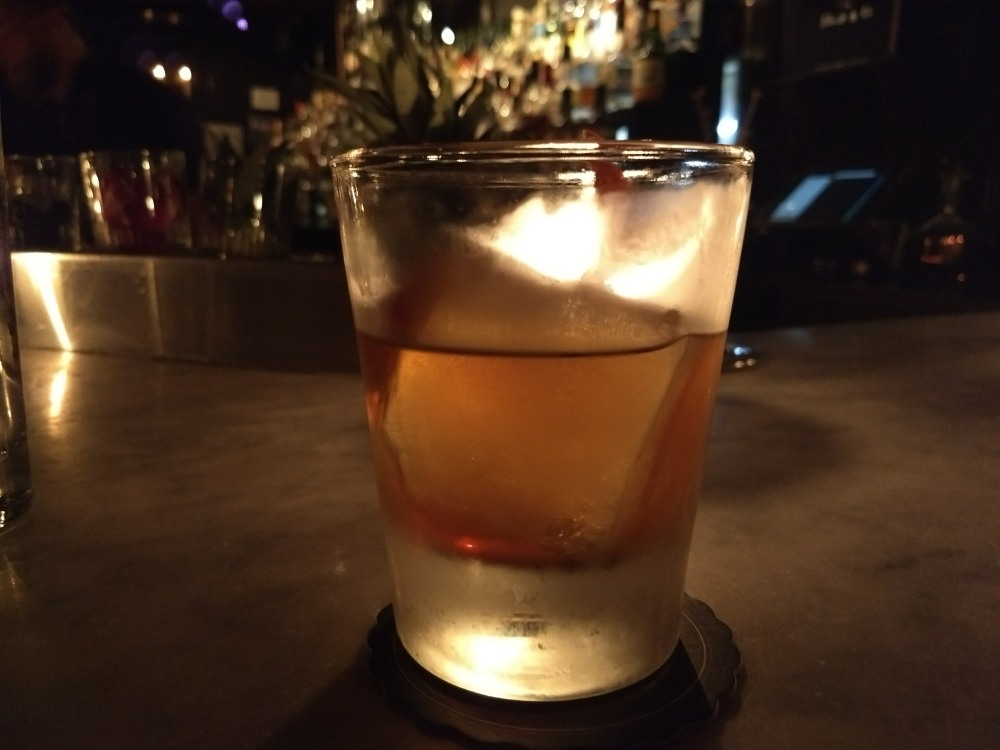 One of the many fabulous cocktails at Death and Company