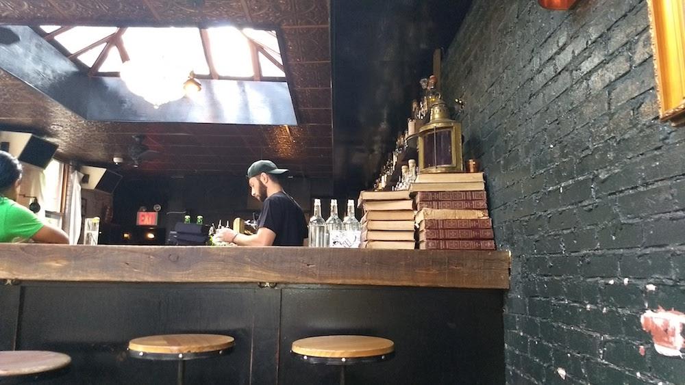 The Garret bartender