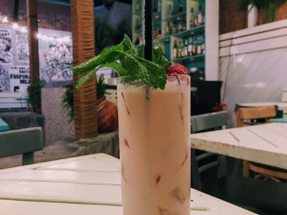 Mulberry Project bespoke cocktail