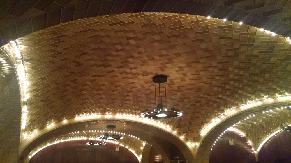 Guastavino tiles in Oyster Bar