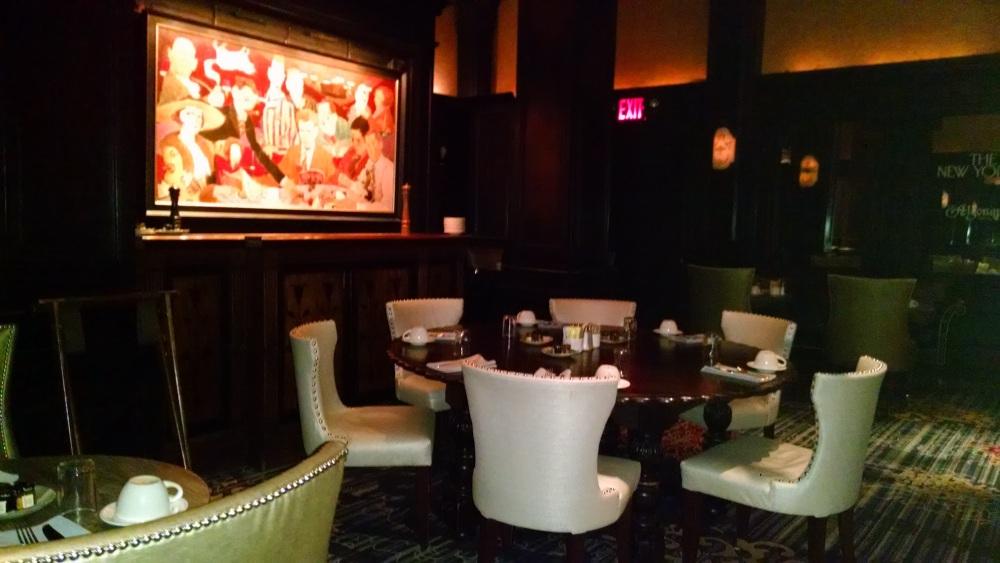 The Blue Bar at Algonquin 5