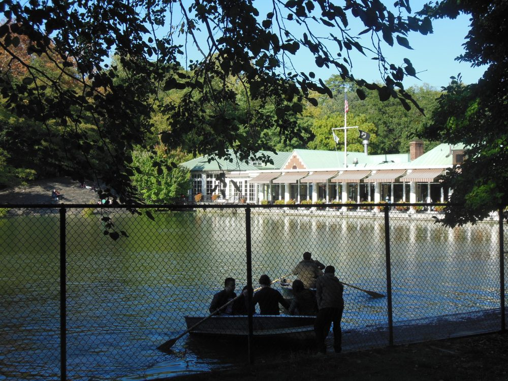 Renting boats at The Boathouse