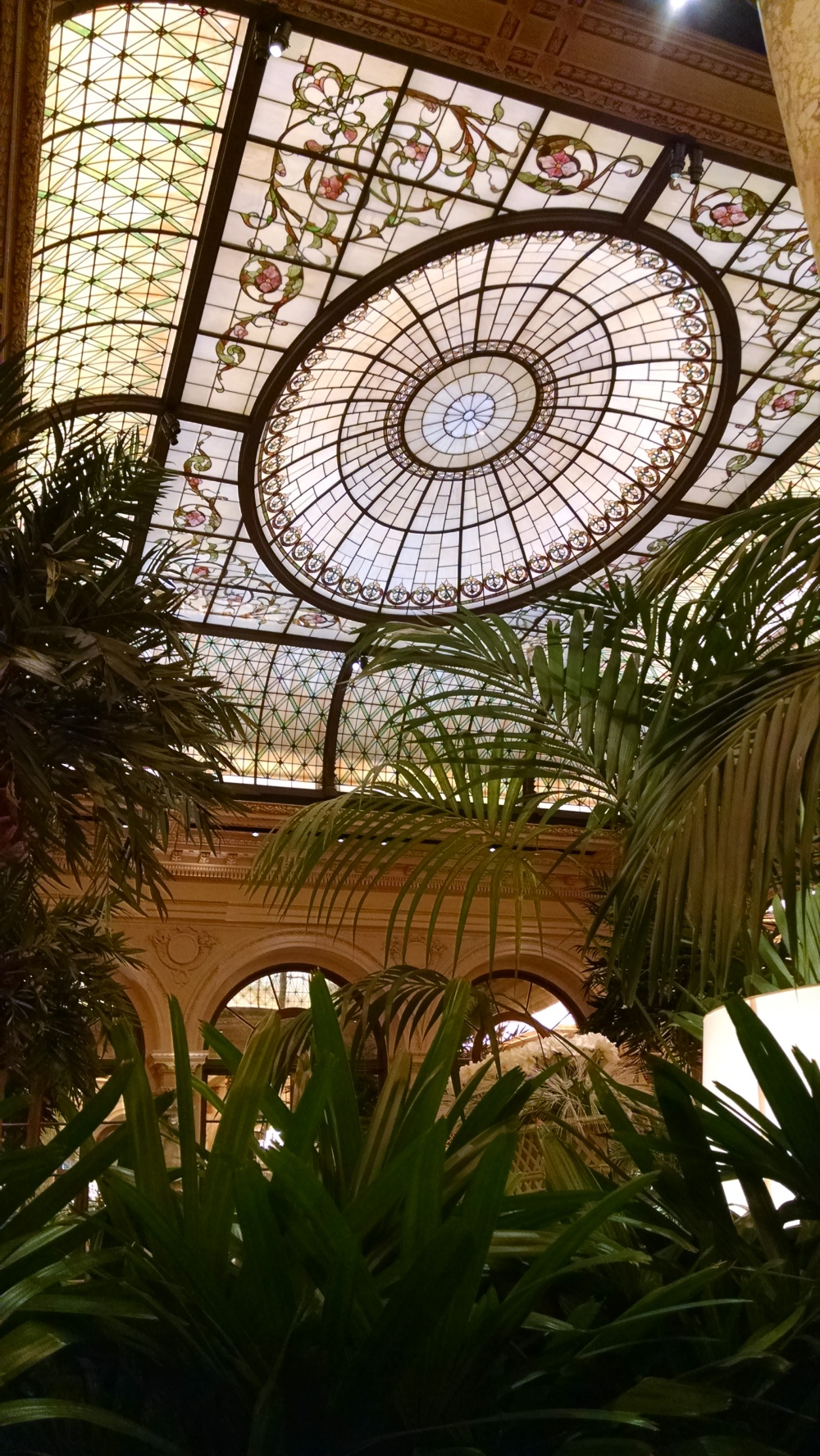 They don't call it The Palm Court for nothing - there are palm