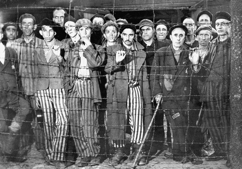 Buchenwald concentration camp prisoners by Margaret Bourke-White