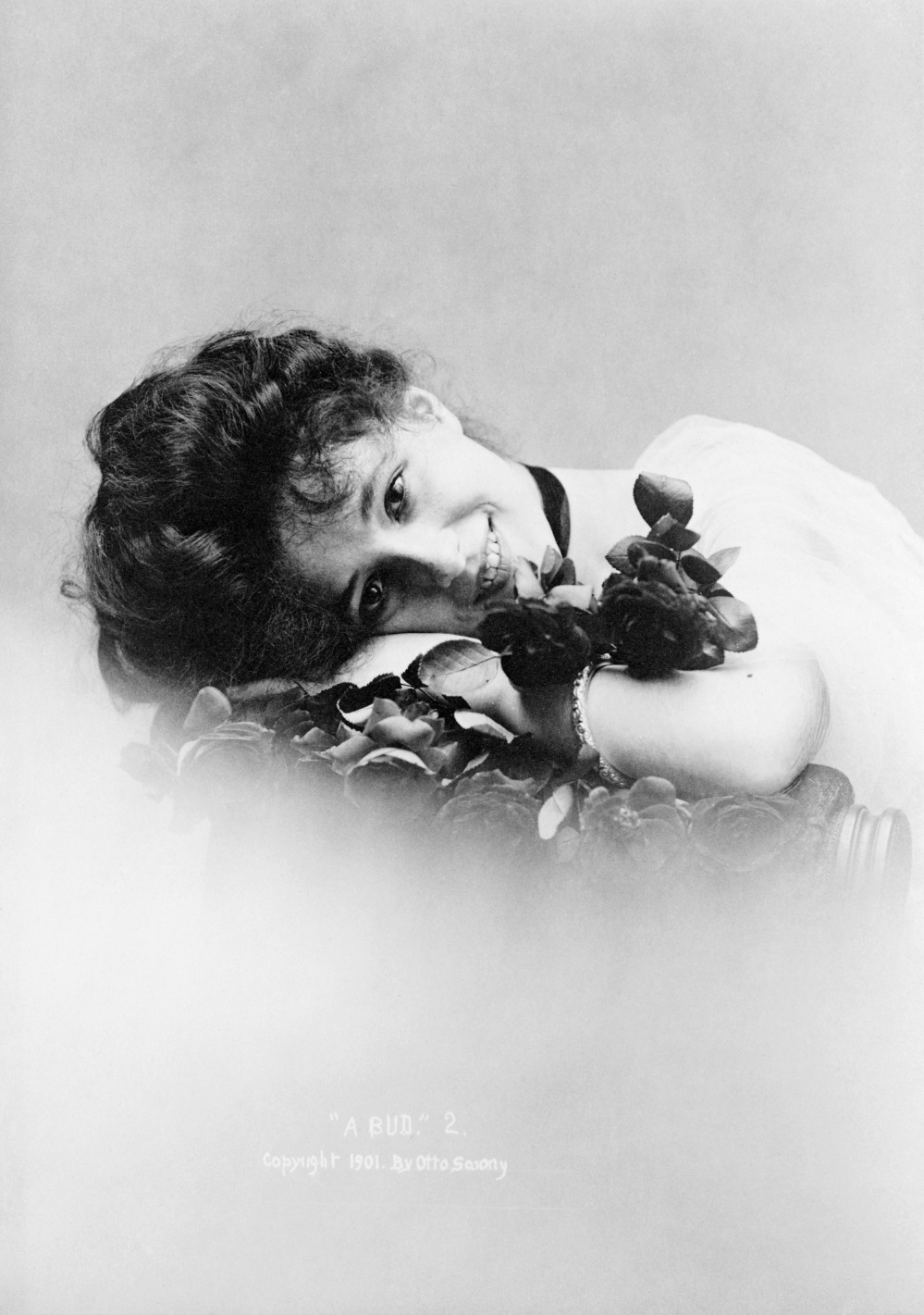 Evelyn Nesbit by Sarony Studio