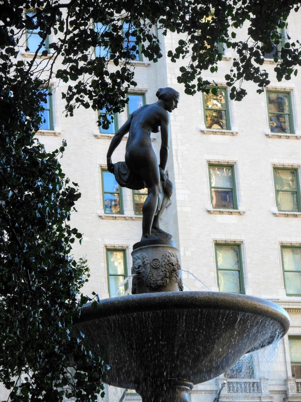 """Pomona"" by Isidore Konti (Pulitzer Fountain, Grand Army Plaza)"