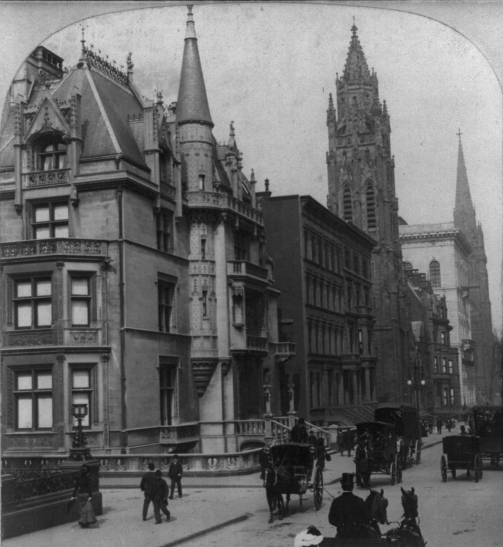 Residence of William K. and Alva Vanderbilt at 660 5th Avenue, New York