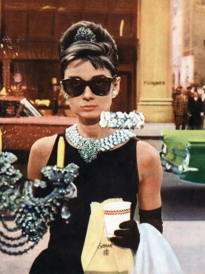 "Audrey Hepburn in ""Breakfast at Tiffany's"""