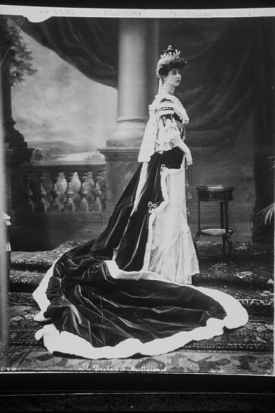 Consuelo Vanderbilt Dressed for 1911 coronation of King George V