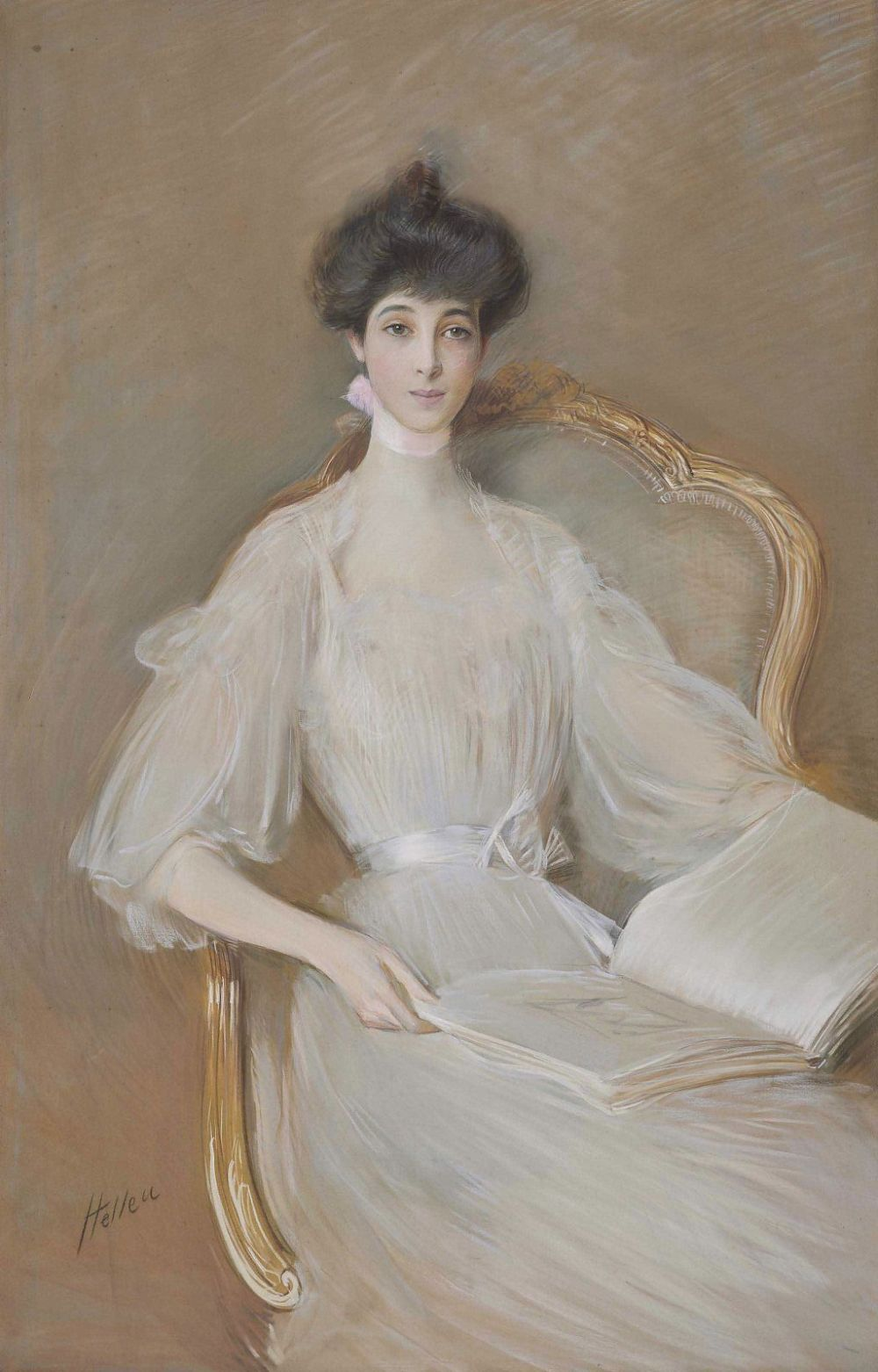 Consuelo Vanderbilt, Duchess of Marlborough by Paul César Helleu