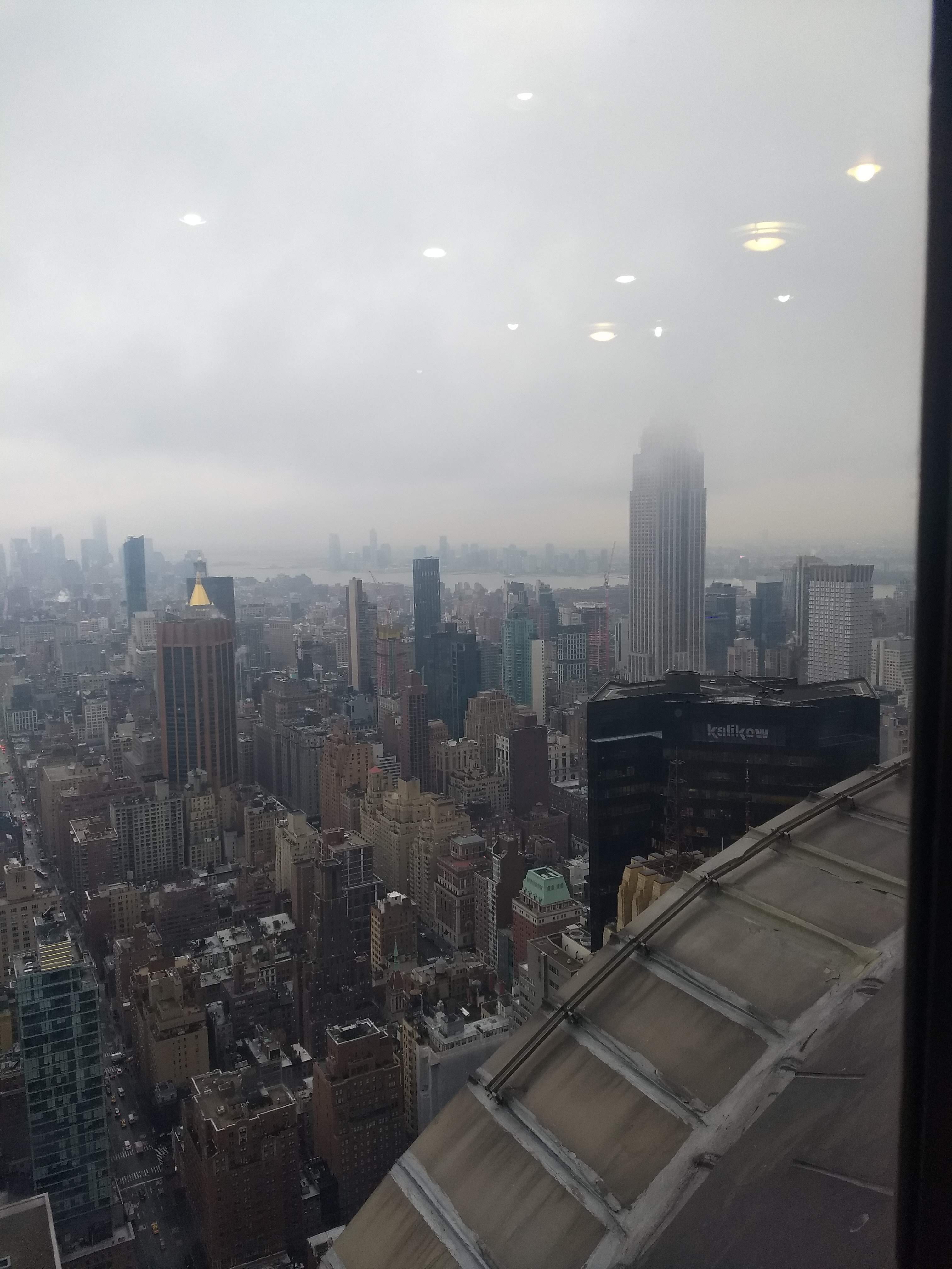 ESB on a foggy day