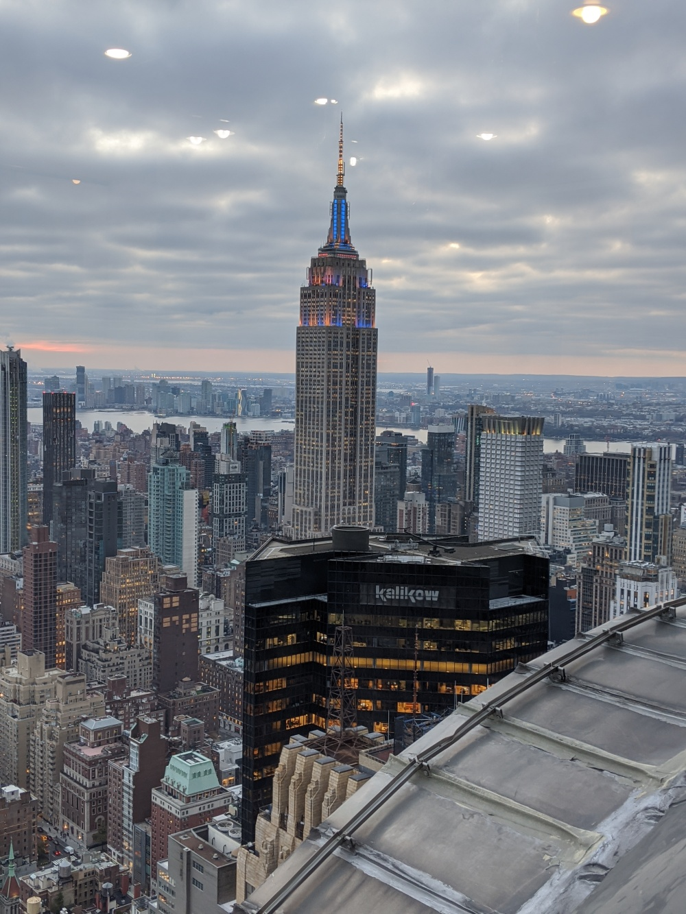 ESB from the Chrysler Building tower