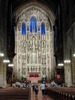 Inside Saint Thomas Church, 1 W 53rd St, New York, NY