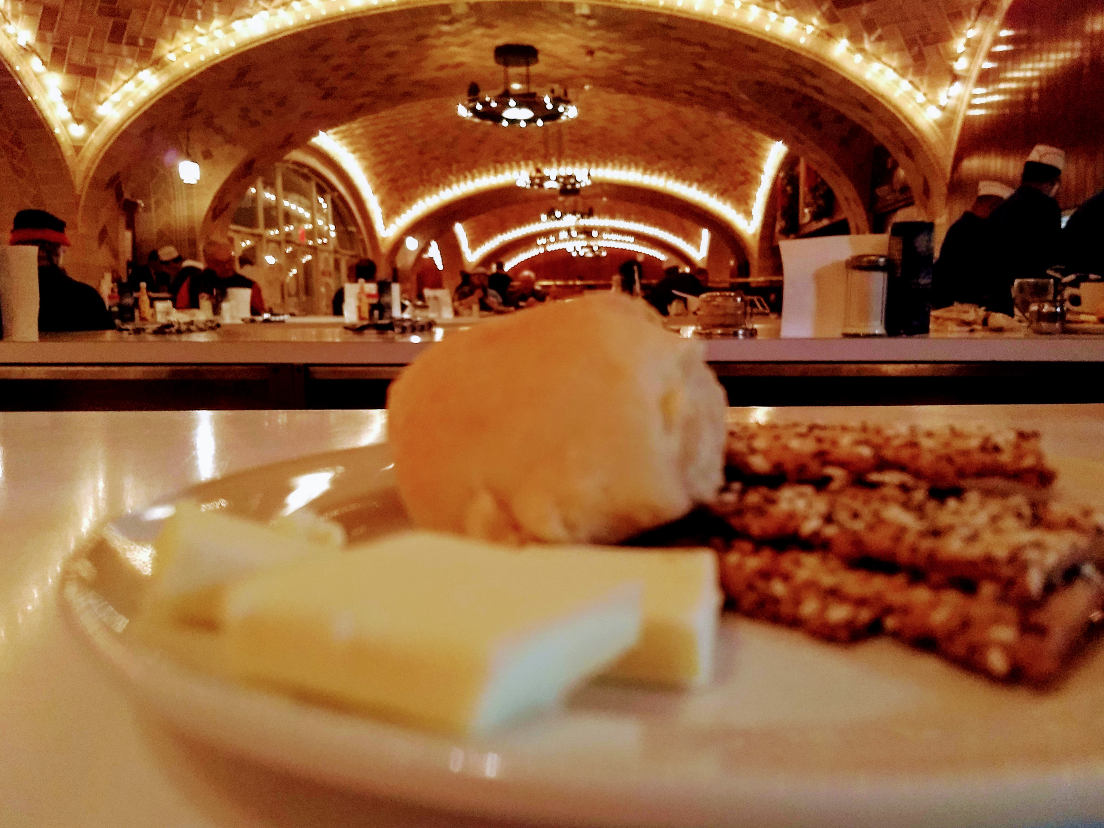 Lunch in Oyster Bar, Grand Central