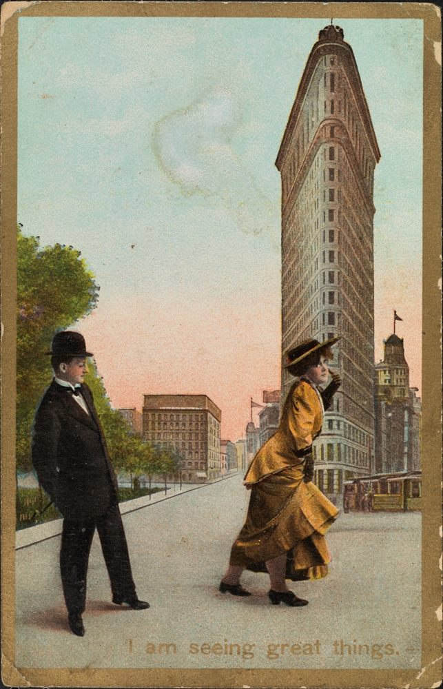 I am seeing great things, ca. 1910. Museum of the City of New York