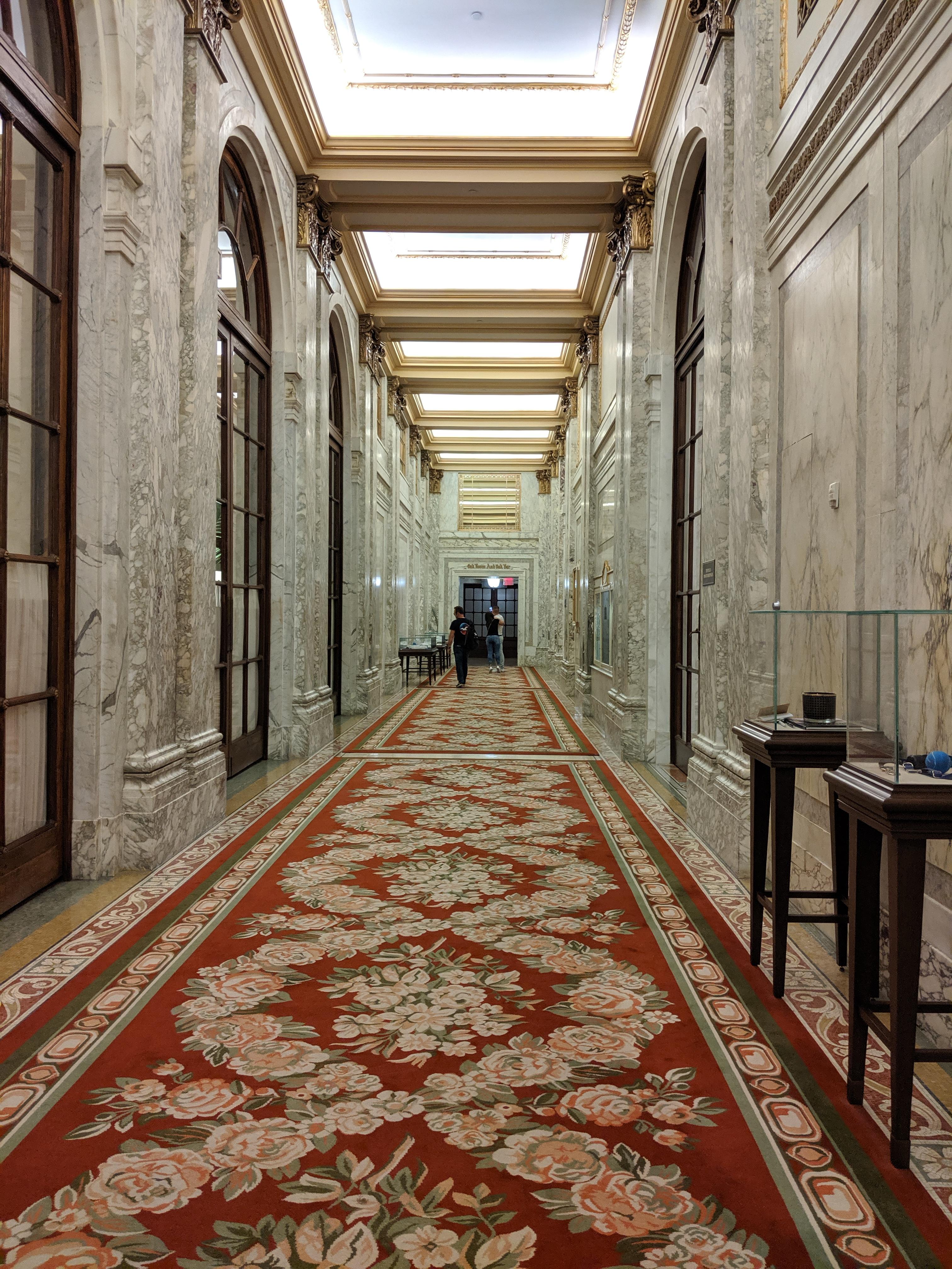 Inside the Plaza