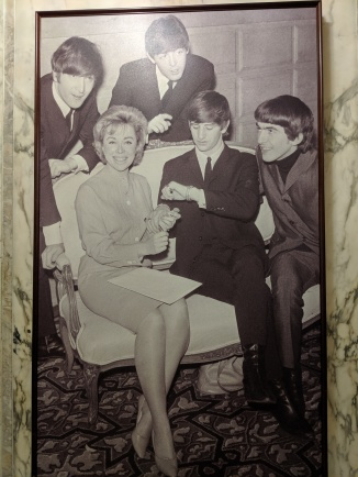 The Beatles stayed at the Plaza on their first visit to the US, 1964