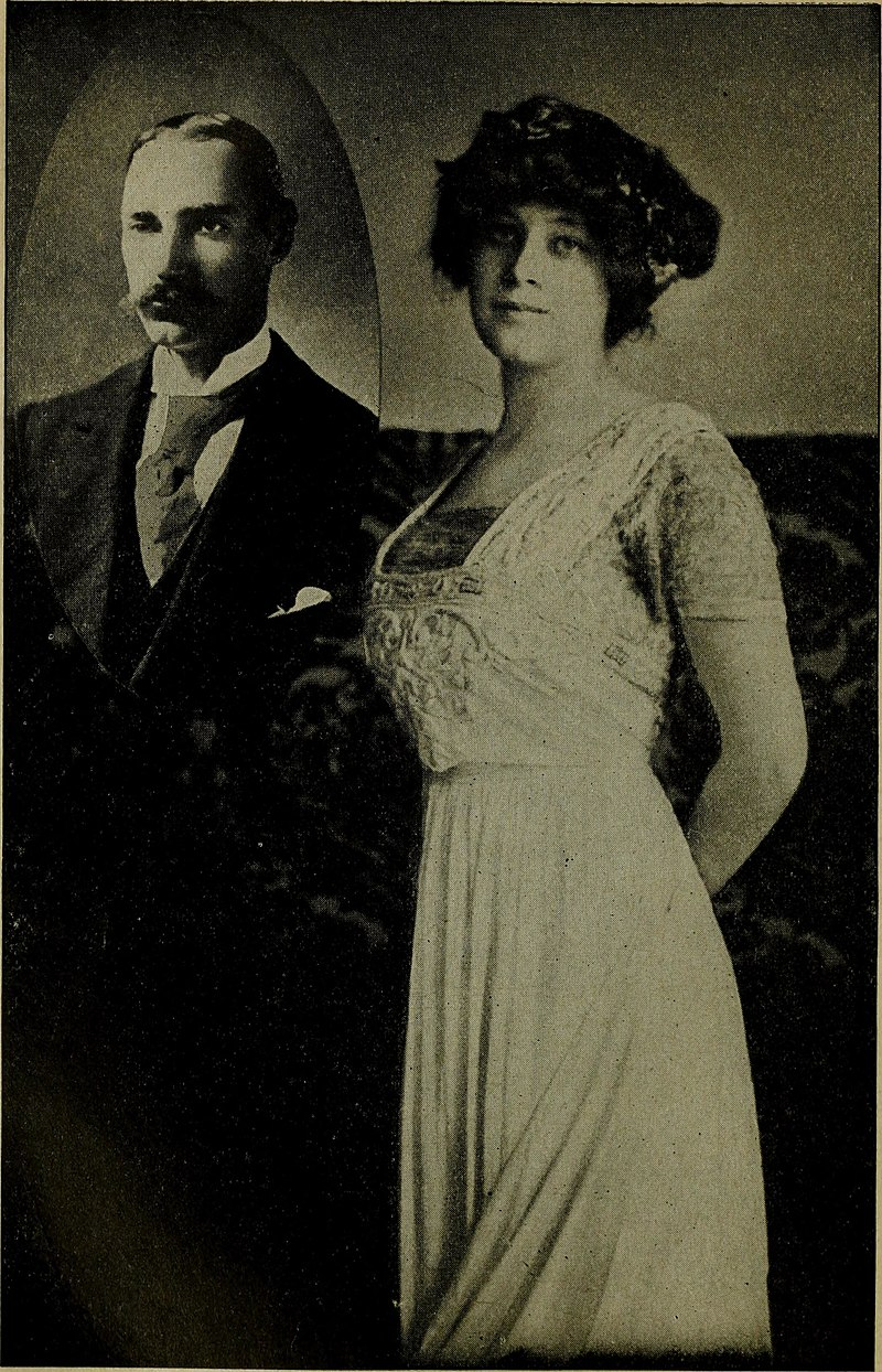 Colonel John Jacob Astor IV and his young bride (Madeleine Astor)