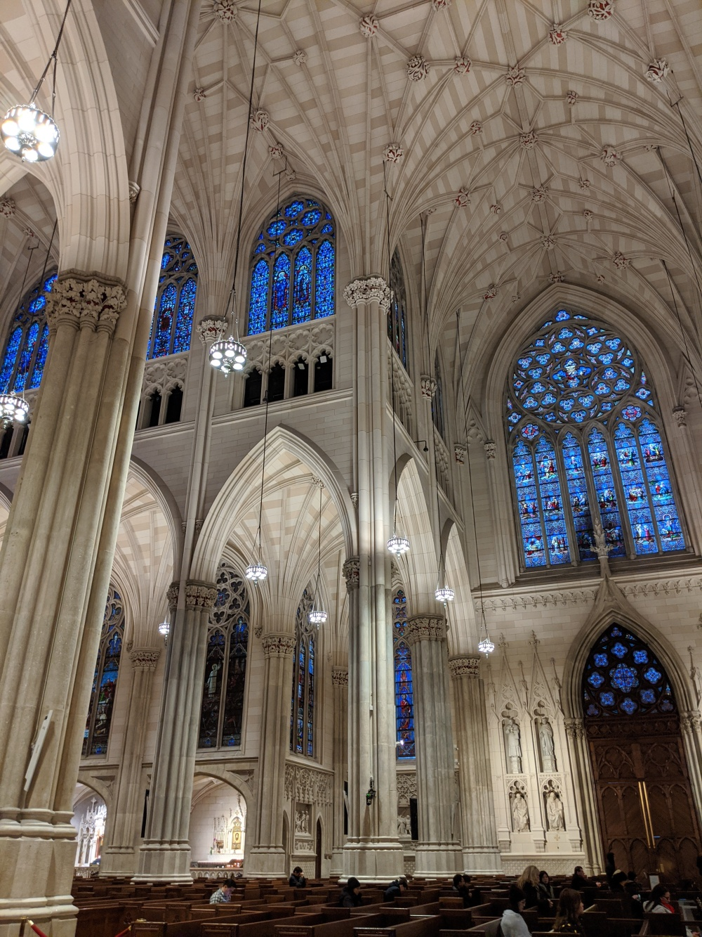 Interior of St. Patrick's Cathedral