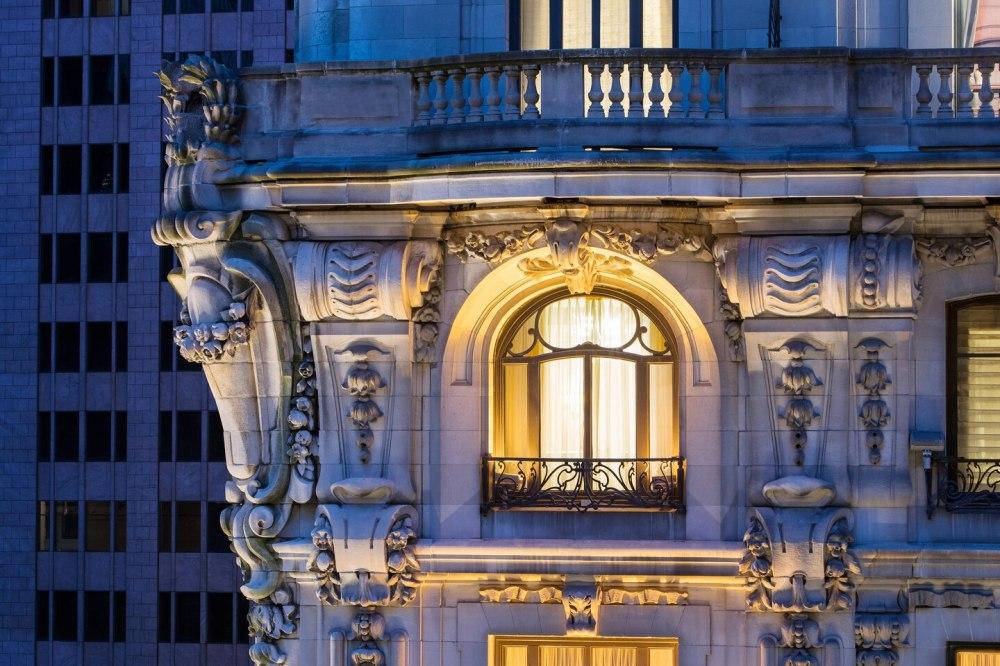 St. Regis exterior detail