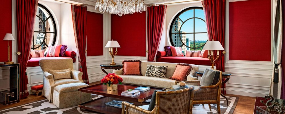 The Imperial Suite in St. Regis