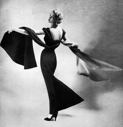 Bergdorf Goodman Ad 1950's Photo by dovima_is_devine_II on flickr(cc)