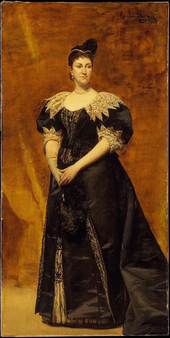 543px-Carolus-Duran_-_Mrs._William_Astor_(Caroline_Webster_Schermerhorn,_1831–1908) (1)
