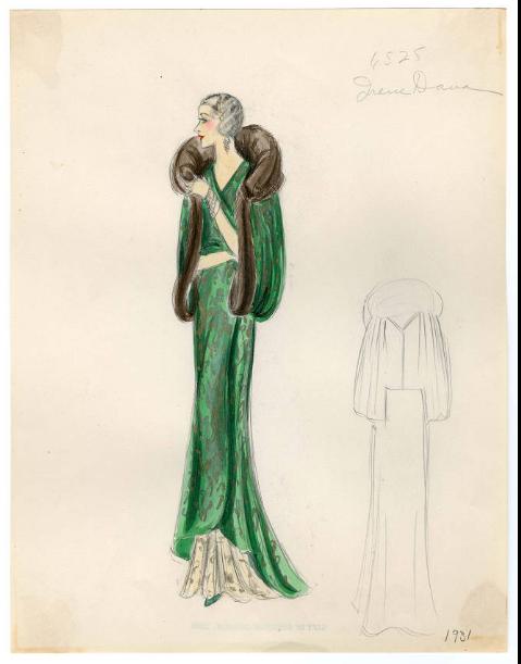 Bergdorf Goodman sketches : Dana 1930-1931