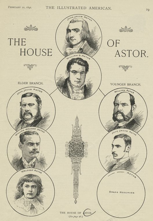 The House of Astor, The Miriam and Ira D. Wallach Division of Art, Prints and Photographs: Print Collection