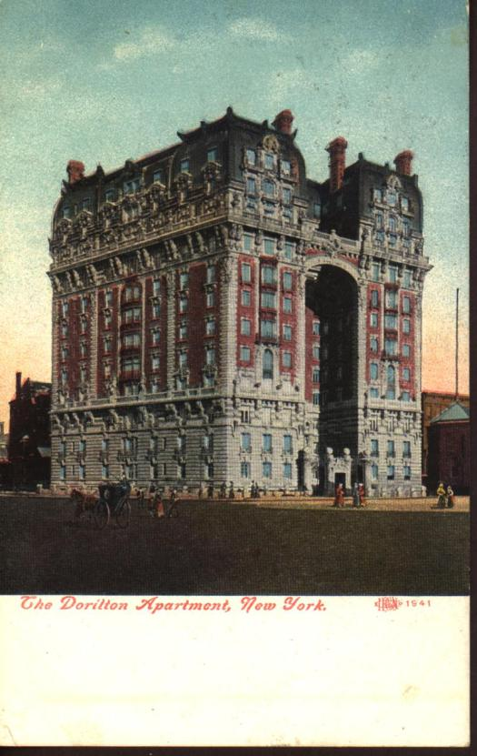 The Dorilton, colored postcard
