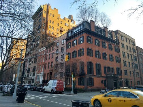 Stuyvesant Fish House at the corner of Gramercy Park South and Irving Place