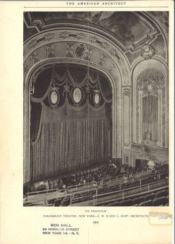 Paramount Theater, 1944