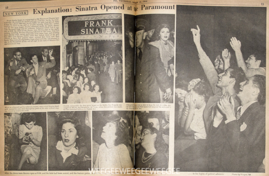 """Explanation: Sinatra Opened at the Paramount"", 1944"