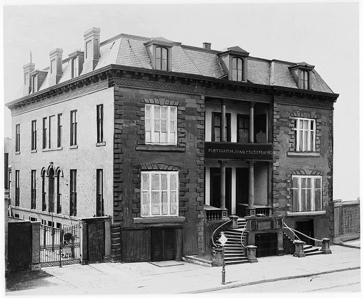 128 West 14th Street, the Museum's home from 1873 to 1879, ca. 1900